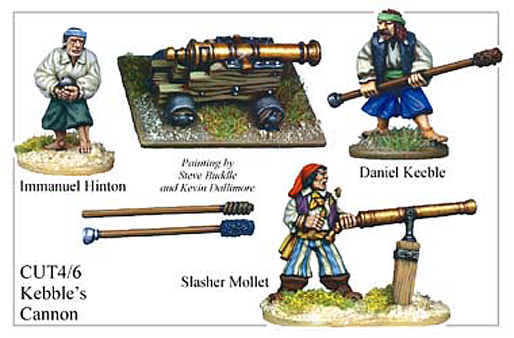 Pirates And Swashbucklers  - Kebles Cannon
