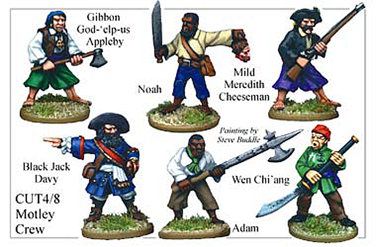 Pirates And Swashbucklers  - Motley Crew