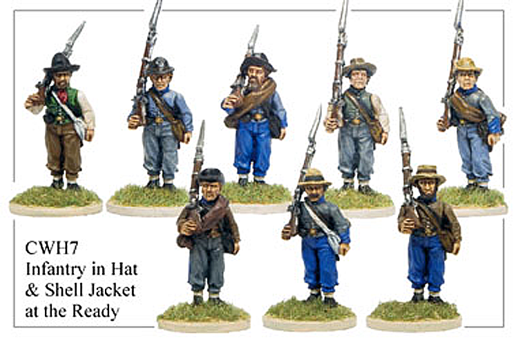 American Civil War  - Hats And Shell Jackets At The Ready
