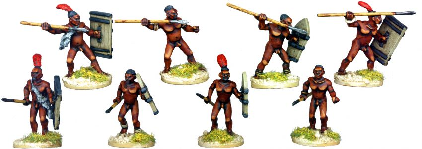 Bollock Naked Tribal Spearmen