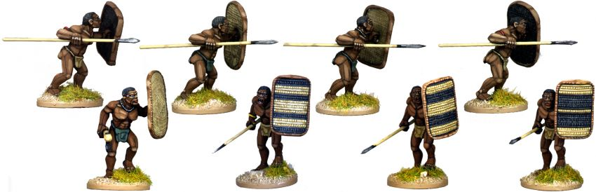 African Tribal Warriors 2