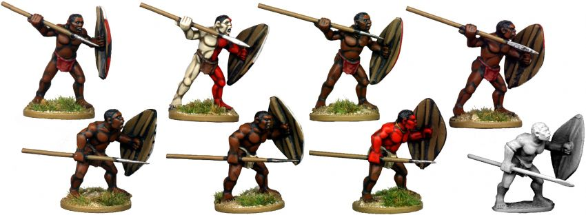 African Tribal Warriors 1
