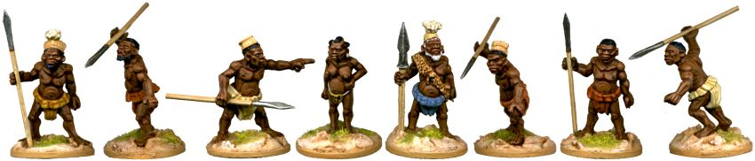 Pygmy Chief Mbuti and his Pygmy Bodyguard
