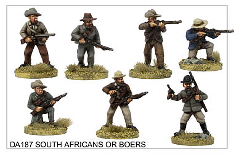 Colonial The Boer Wars - South Africans Or Boers