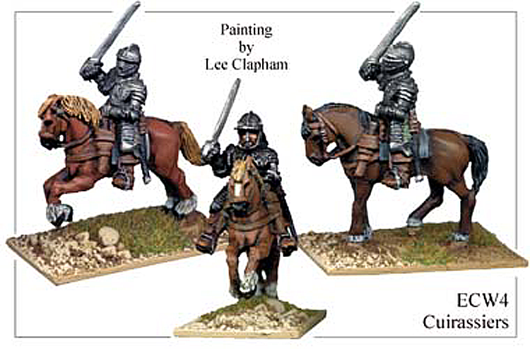 English Civil War British - Cuirassiers