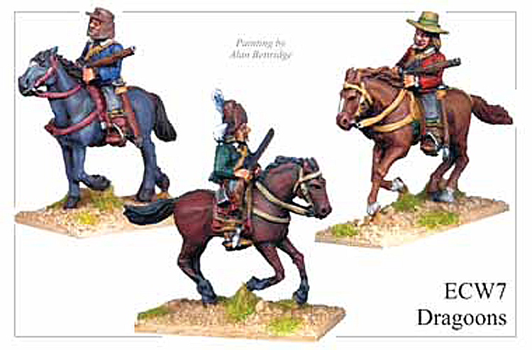 English Civil War British - Dragoons