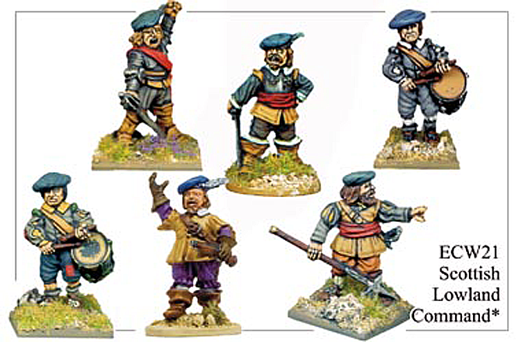 English Civil War Scottish - Scottish Lowland Command