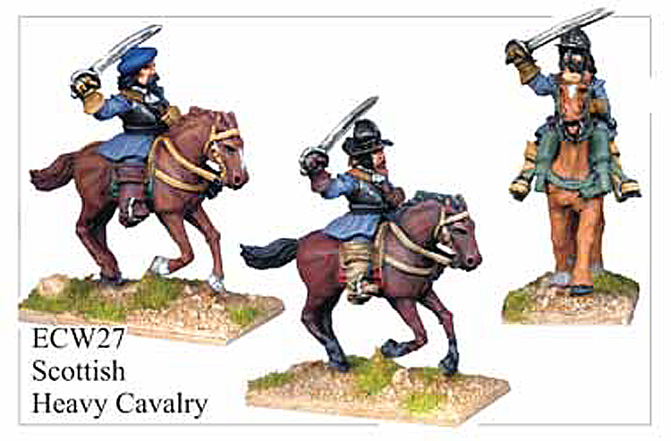 English Civil War Scottish - Scottish Heavy Cavalry