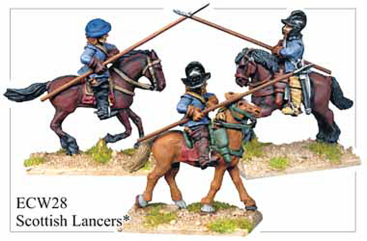 English Civil War Scottish - Scottish Lancers