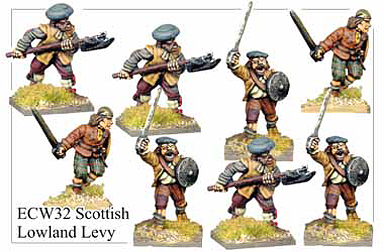 English Civil War Scottish - Scottish Lowland Levy