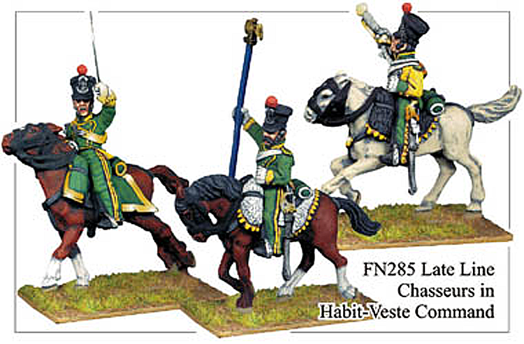 Napoleonic French - Late Line Chasseurs A Cheval Command
