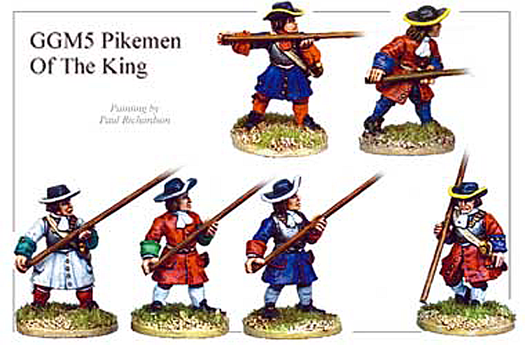 Marlburian European - Pikemen Of The King