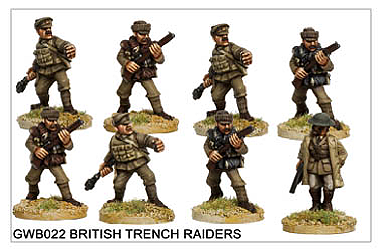 WW1 Great War British - British Trench Raiders