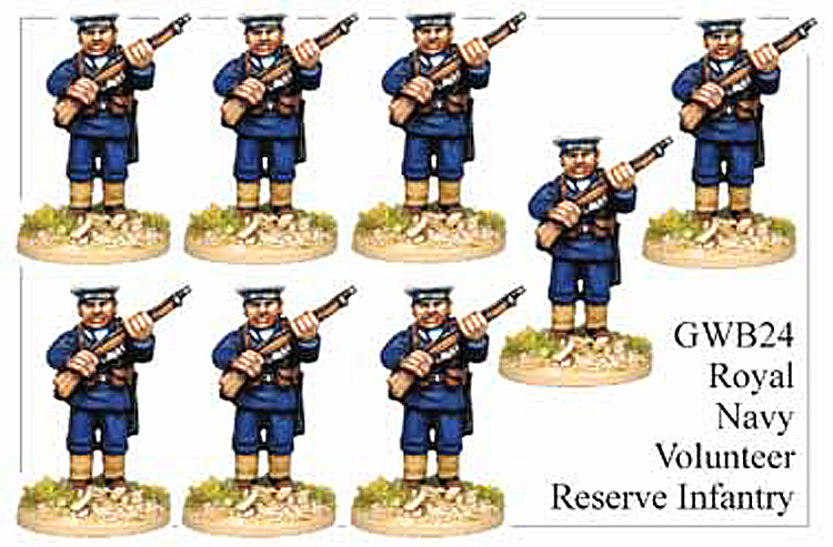 WW1 Great War British - British Royal Navy Volunteer Reserve Infantry