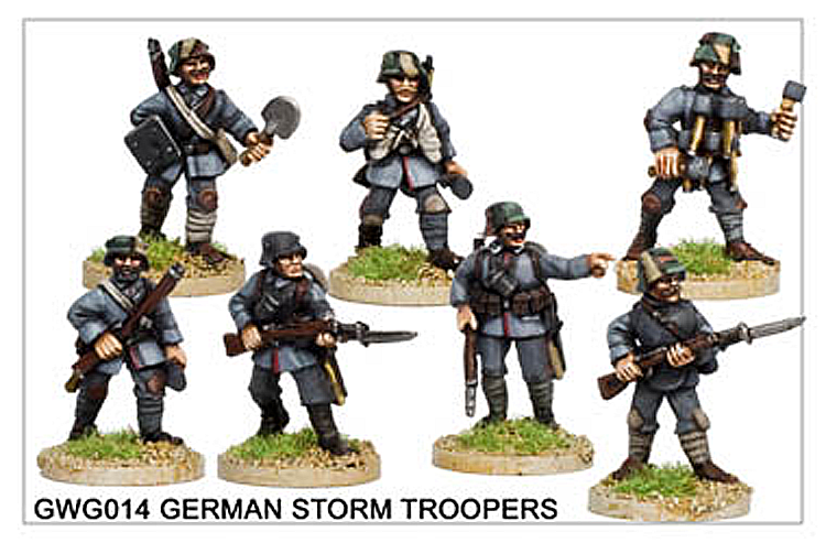 WW1 Great War German - German Storm Troopers
