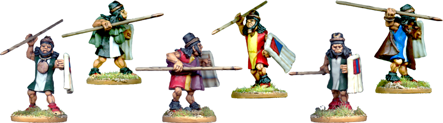 Inca Allies: Colla Spearmen