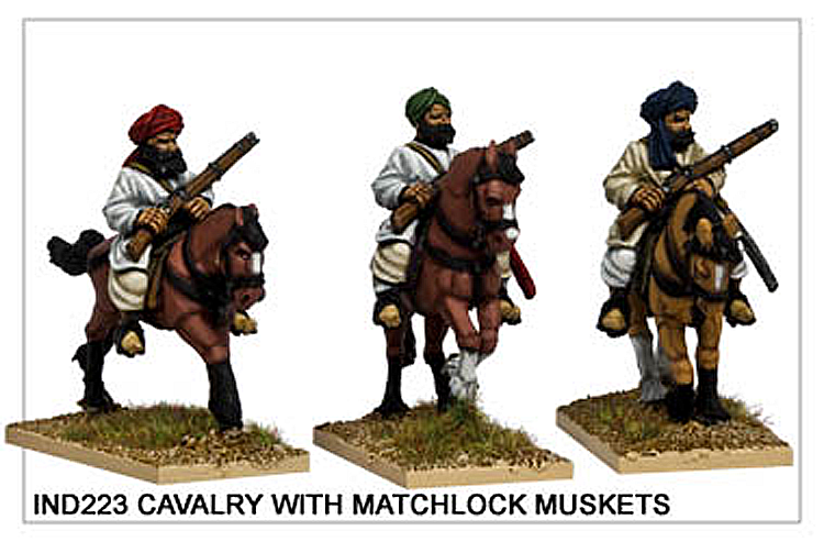 Colonial Sikh Wars - Cavalry With Matchlock Muskets