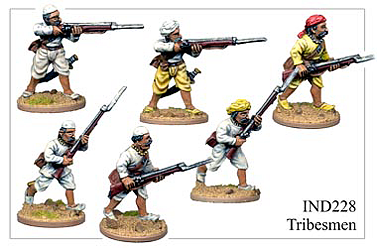 Colonial Indian Mutiny - Tribesmen