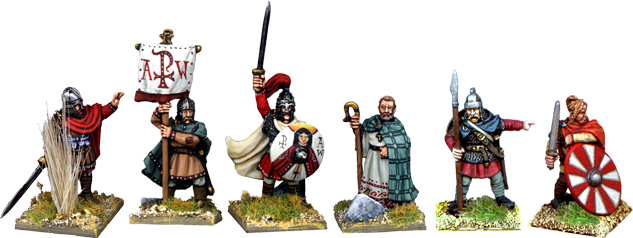 King Arthur with Champions and Characters