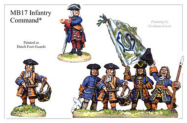 Marlburian European - Infantry Command
