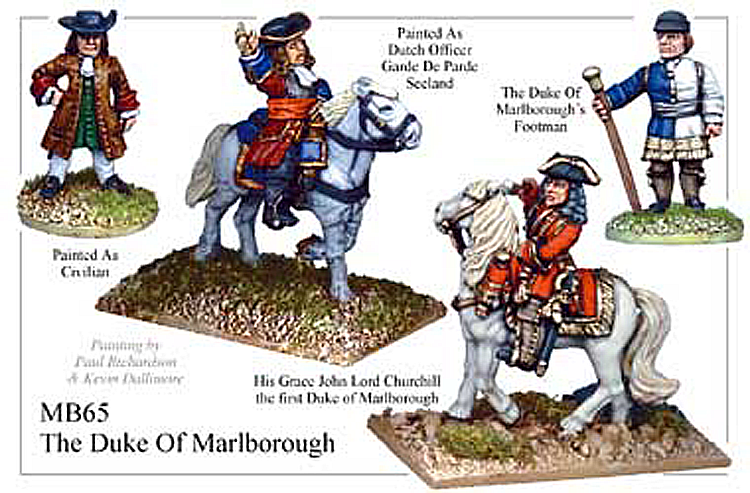Marlburian British - The Duke Of Marlborough