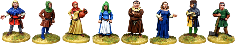 Medieval Civilian Characters 1