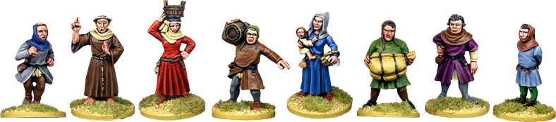 Medieval Civilian Characters 2