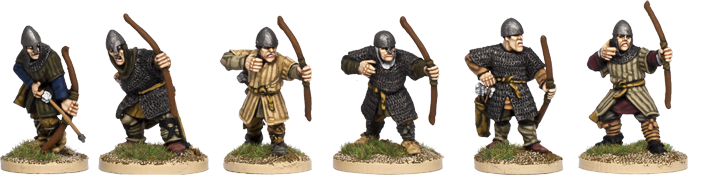 Armoured Norman Archers