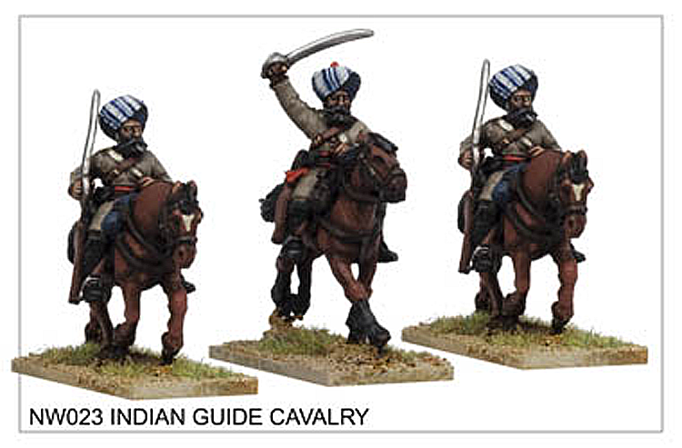 Colonial The North West Frontier - Indian Guide Cavalry