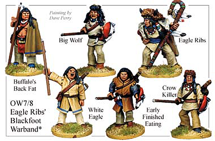 Old West Indians - Eagle Ribs Blackfoot Warband