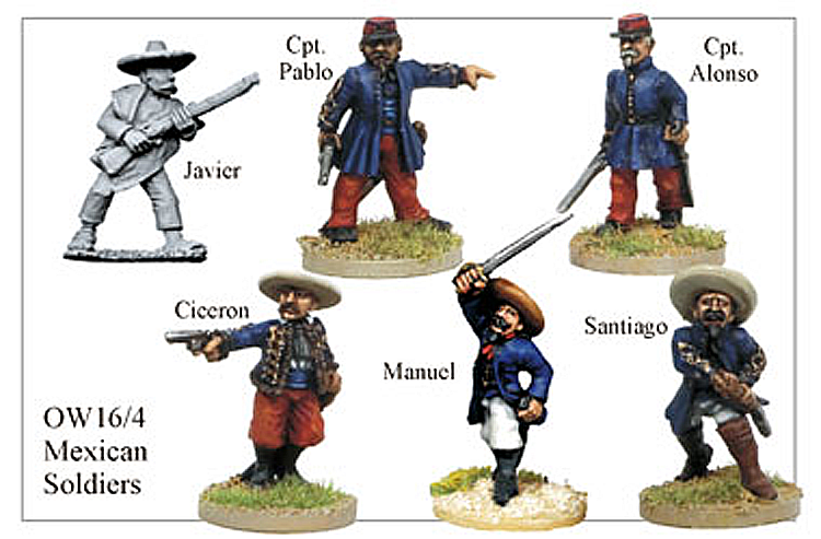 Old West Mexicans - Mexican Soldiers