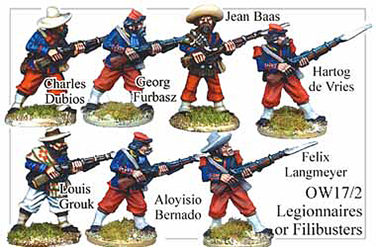 Old West Cowboys - French Foreign Legion Or Filibusters