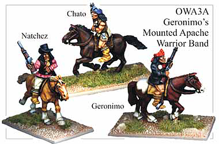 Old West Indians - Mounted Geronimos Warrior Band