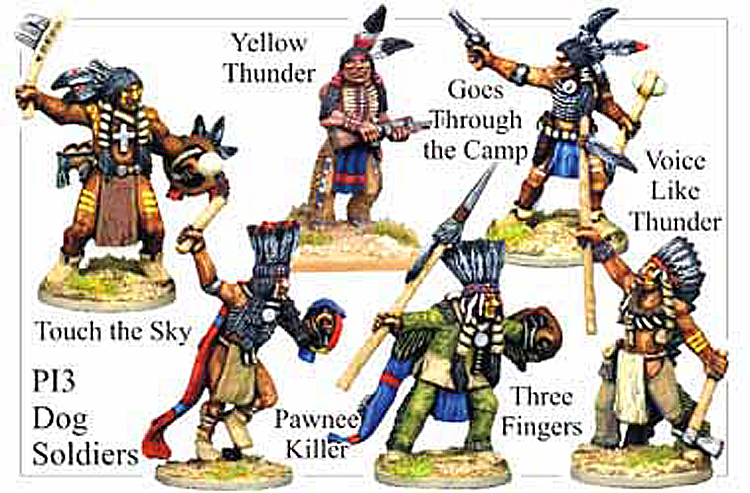 Old West Indians - Plains Indians Dog Soldiers