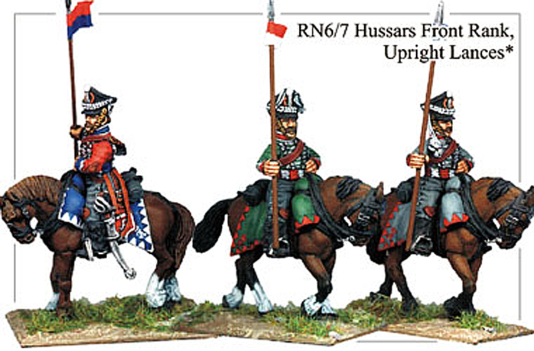 Napoleonic Russian - Hussars Front Rank Lance Armed