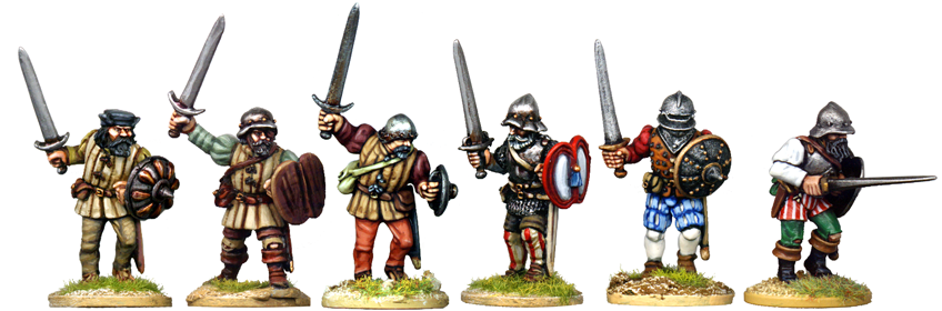 Brutal Sword And Buckler Men