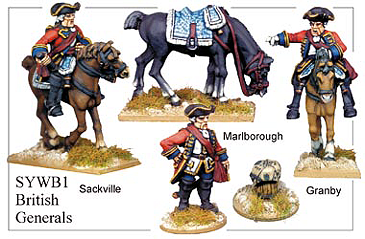 Seven Years War British - British Generals