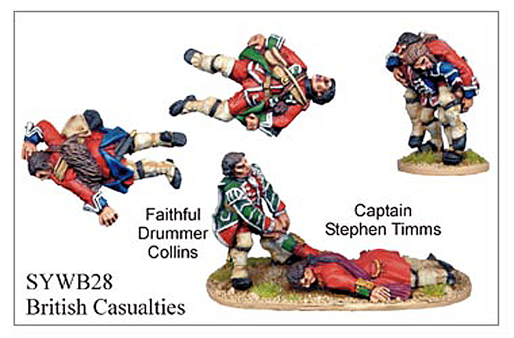 Seven Years War British - British Casualties