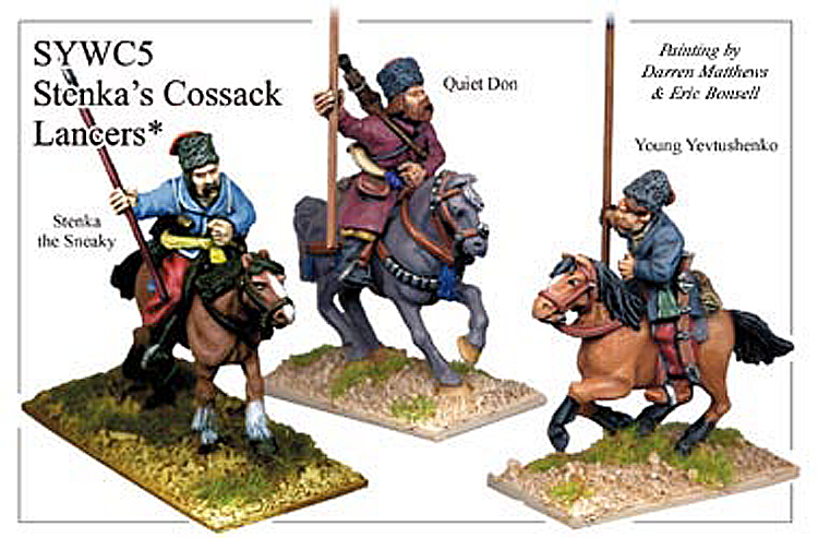 Seven Years War Russian - Stenkas Cossack Lancers