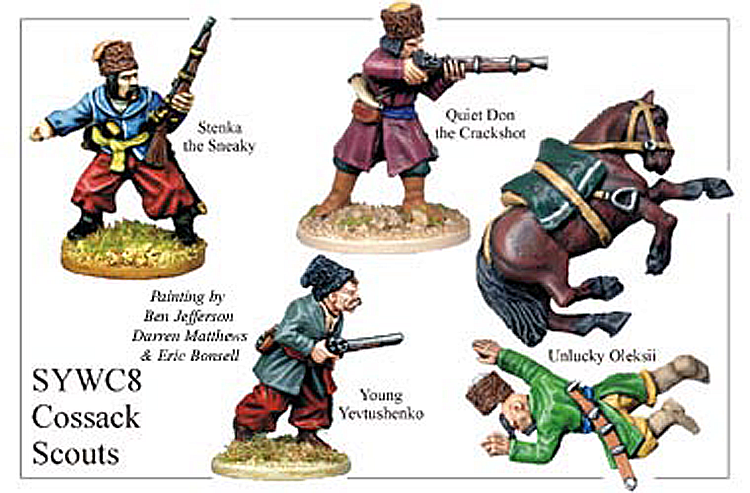 Seven Years War Russian - Cossack Scouts