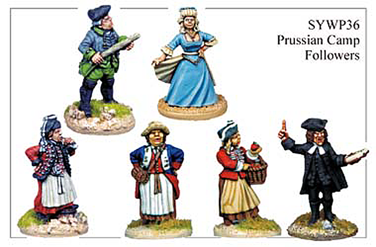 Seven Years War Prussian - Prussian Camp Followers