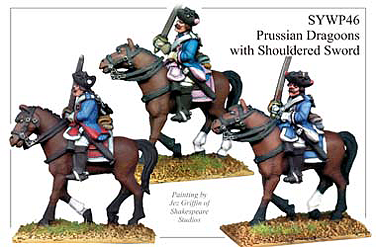 Seven Years War Prussian - Prussian Dragoons