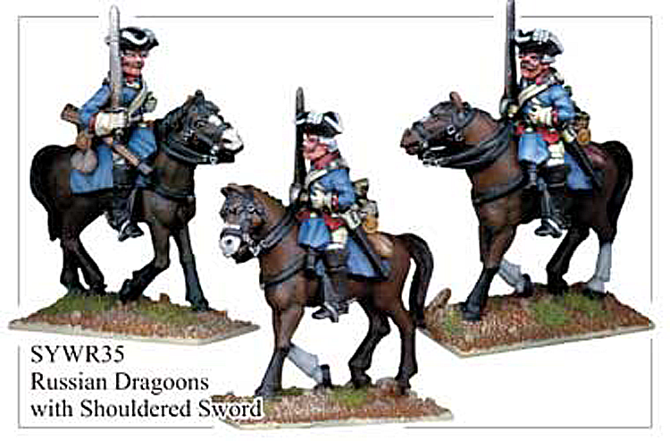 Seven Years War Russian - Russian Dragoons