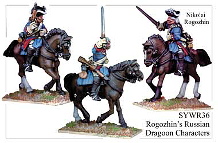 Seven Years War Russian - Russian Dragoon Characters