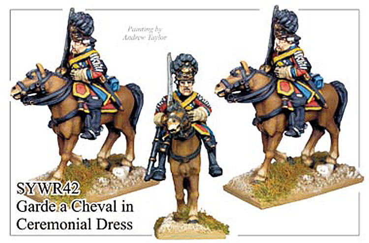 Seven Years War Russian - Russian Garde A Cheval Ceremonial Dress