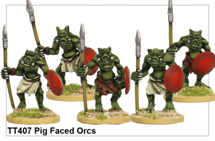 Pig Faced Orcs