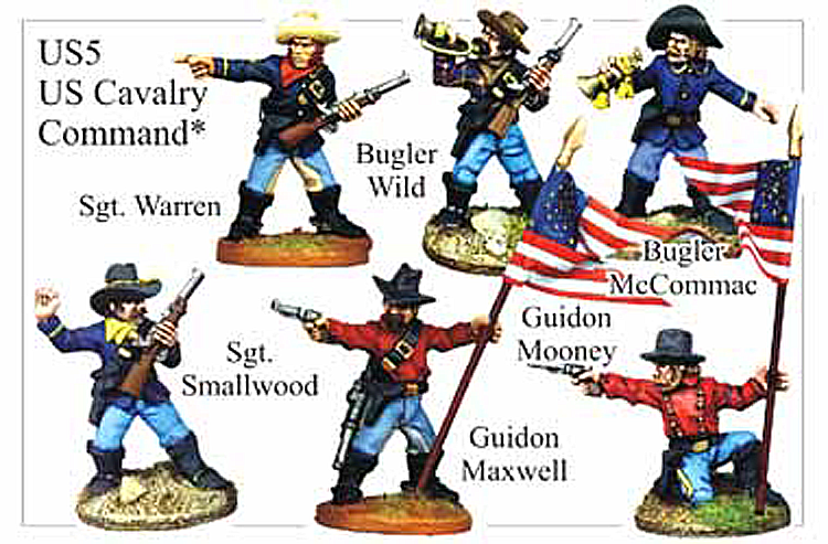 Old West Cavalry - Us Cavalry Command
