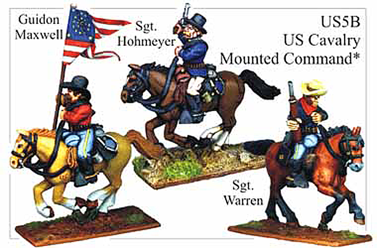 Old West Cavalry - Us Cavalry Mounted Command
