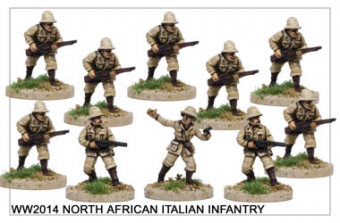 North African Italian Infantry