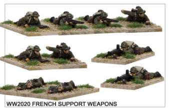 French Support Weapons